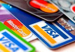 Se aceptan tarjetas de crédito